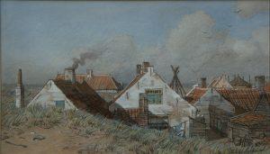 Een masterclass in het Noordwijk aan Zee van rond 1900